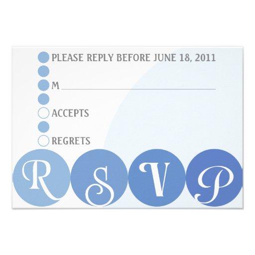 R.s.v.p. Card Invites