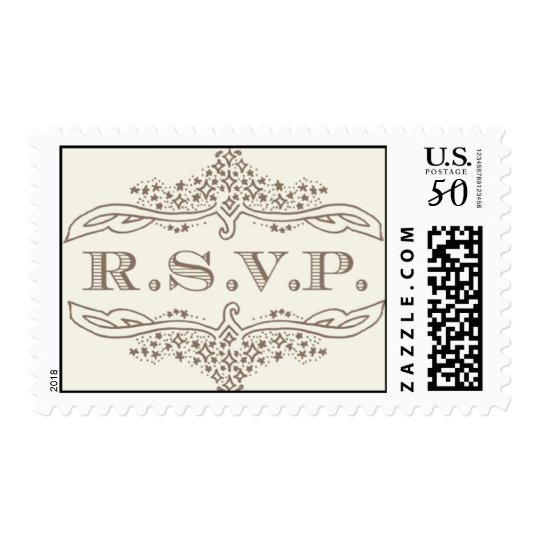 R.S.V.P Stars - gold by Ceci New York Postage