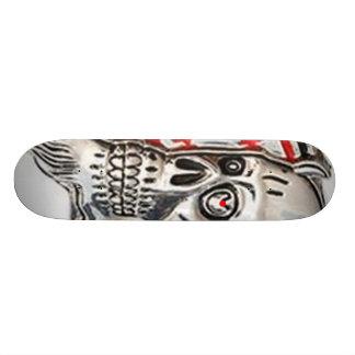 R Skull Skateboard
