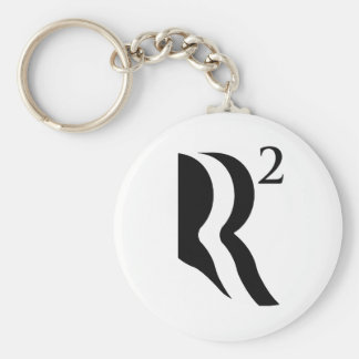 R SQUARED - ROMNEY RICE 2 png Keychain