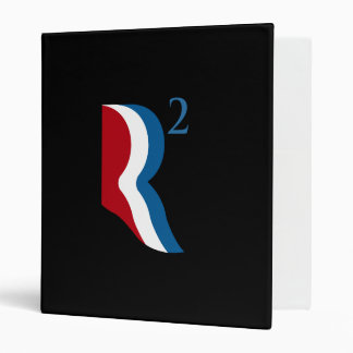 R SQUARED - ROMNEY RICE - png Vinyl Binders