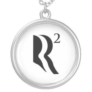 R SQUARED - ROMNEY RYAN 12.png Custom Necklace