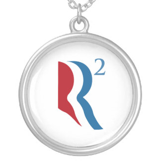 R SQUARED - ROMNEY RYAN 2012.png Necklace