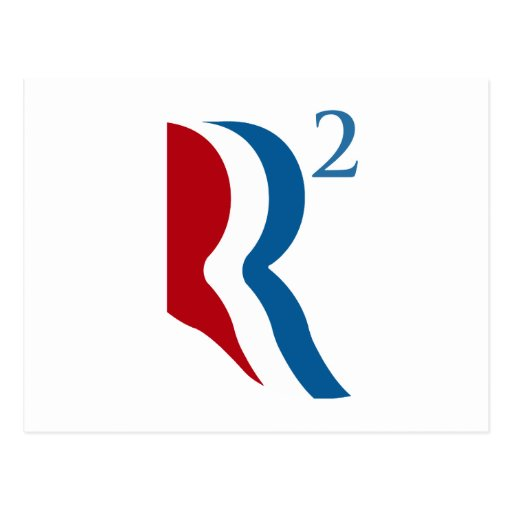 R SQUARED - ROMNEY RYAN 2012.png Post Card