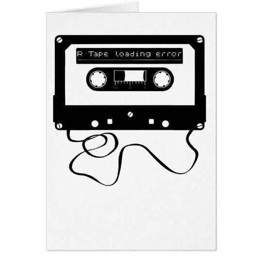 R Tape Loading Error Card
