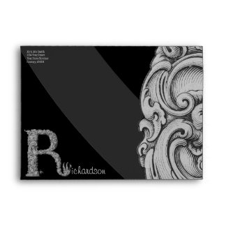R - The Falck Alphabet (Silvery) Envelope