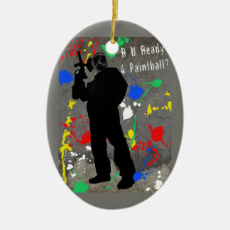 ¿R U alistan 4 Paintball? Adorno Para Reyes