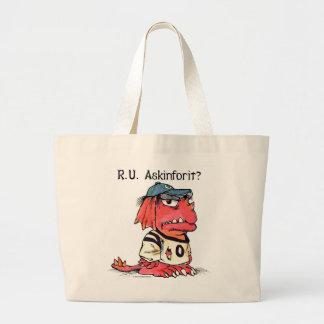 'R.U. Askinforit?' bags by Mercer Mayer