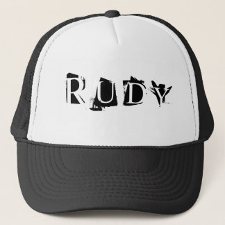 R U D Y TRUCKER HAT