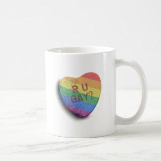 R U GAY CANDY - png Coffee Mug