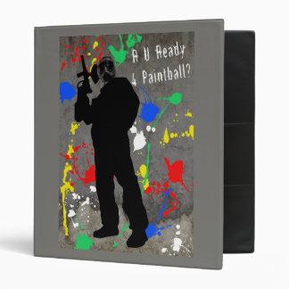 R U Ready 4 Paintball? Binder