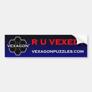 R U Vexed Bumper Sticker