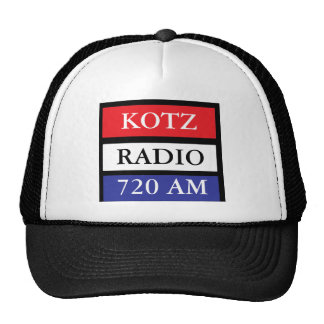 R W B KOTZ RADIO TRUCKER HAT