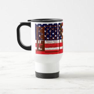 R. W. Blue FFE ECO COFFEE COFFEE COMPANY Travel Mug