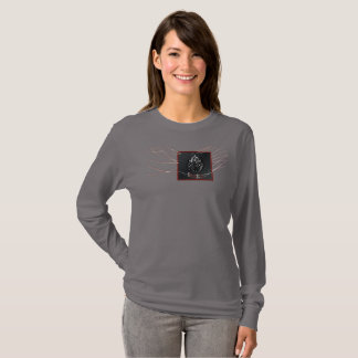 R.W.SNATCH BADGE Ladies Long Sleeve T-Shirt