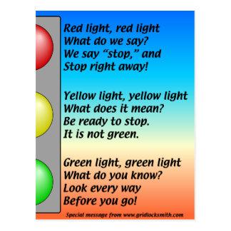 R-Y-G-lights Postcards