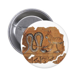 Ra and Apophis blk 2 Inch Round Button