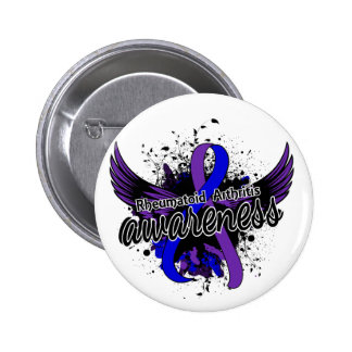 RA Awareness 16 2 Inch Round Button