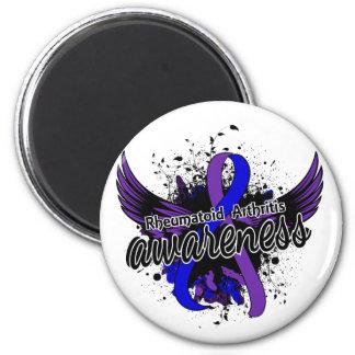 RA Awareness 16 2 Inch Round Magnet