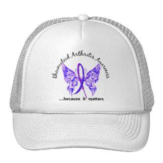 RA de la mariposa 6,1 Gorras