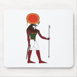 Ra dios egipcio antiguo del Sun y reyes Tapetes De Raton