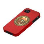 Ra egipcio de dios del sol Case-Mate iPhone 4 funda