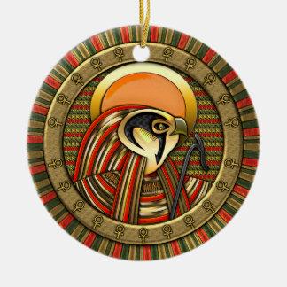 Ra egipcio de dios del sol ornamente de reyes