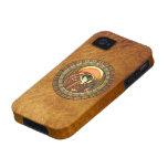 Ra egipcio de dios del sol vibe iPhone 4 carcasas