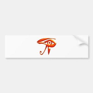 RA eye eye Egypt egypt Car Bumper Sticker