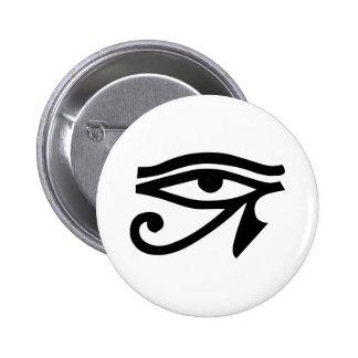 Ra Horus del ojo Pin Redondo 5 Cm