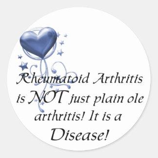 RA is not just plain ole arthritis It is a Disease Sticker