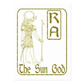 Ra Postcard
