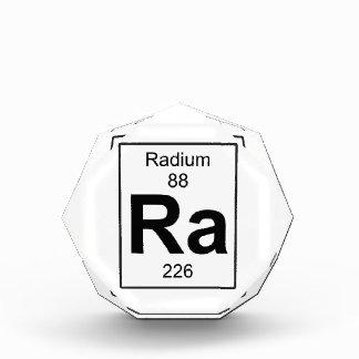 Ra - Radium Acrylic Award