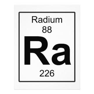 Ra - Radium Letterhead