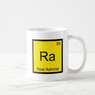 Ra - Rear Admiral Chemistry Element Symbol T-Shirt Mug