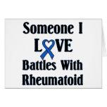 RA reumatoide Tarjetas
