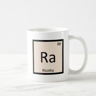 Ra - Ricotta Cheese Chemistry Periodic Table Coffee Mugs