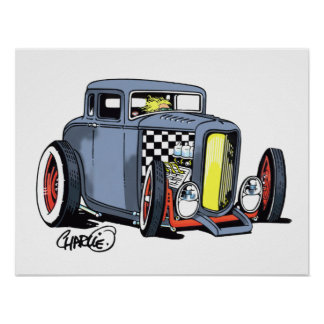 Ra Rod Coupe poster
