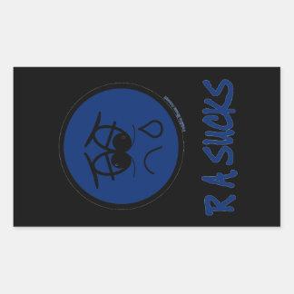 RA Sucks Rectangular Sticker