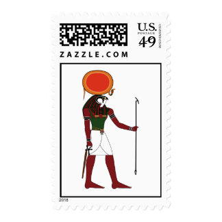 Ra the Ancient Egyptian God of the Sun and Kings Stamp