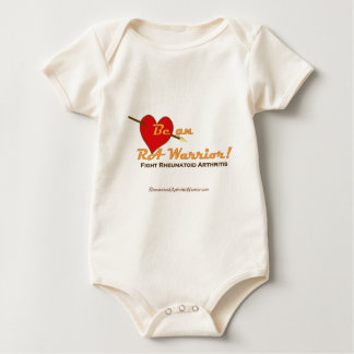 RA Warrior Baby Bodysuit