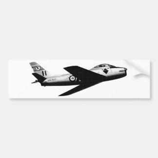 RAAF CAC SABRE BUMPER STICKER