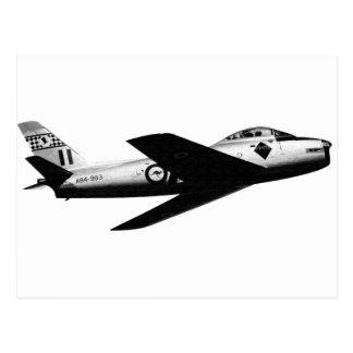 RAAF CAC SABRE POSTCARD