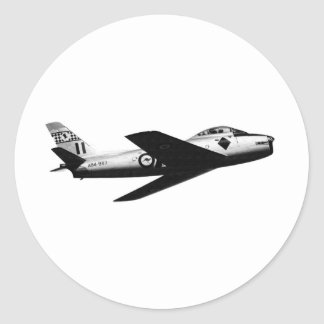 RAAF CAC SABRE ROUND STICKERS