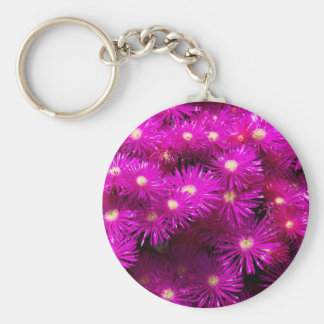 raani flowers basic round button keychain