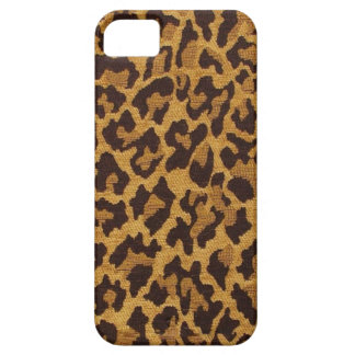 RAB Rockabilly Leopard Print Brown Gold iPhone SE/5/5s Case