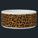 "RAB Rockabilly Leopard Print Dog Bowl<br><div class=""desc"">You are viewing The Lee Hiller Design Collection. Apparel,  Gifts &amp; Collectibles featuring fabric prints from Lee Hiller Photography,  fabric swatch collection or Digital Art Collection. You can view her Nature photography at http://HikeOurPlanet.com/ and follow her hiking blog within Hot Springs National Park.</div>"