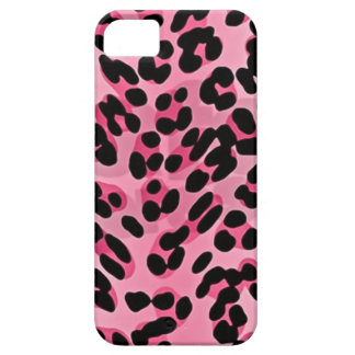 RAB Rockabilly Pink Cheetah Print iPhone SE/5/5s Case