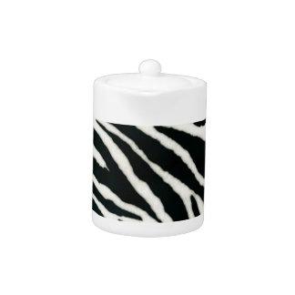 RAB Rockabilly Zebra Print Black & White