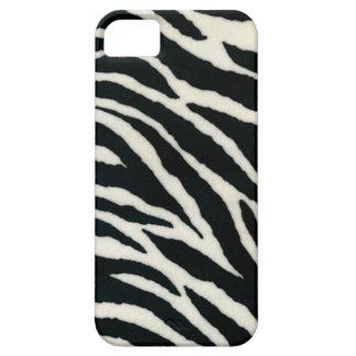 RAB Rockabilly Zebra Print Black & White iPhone 5 Case